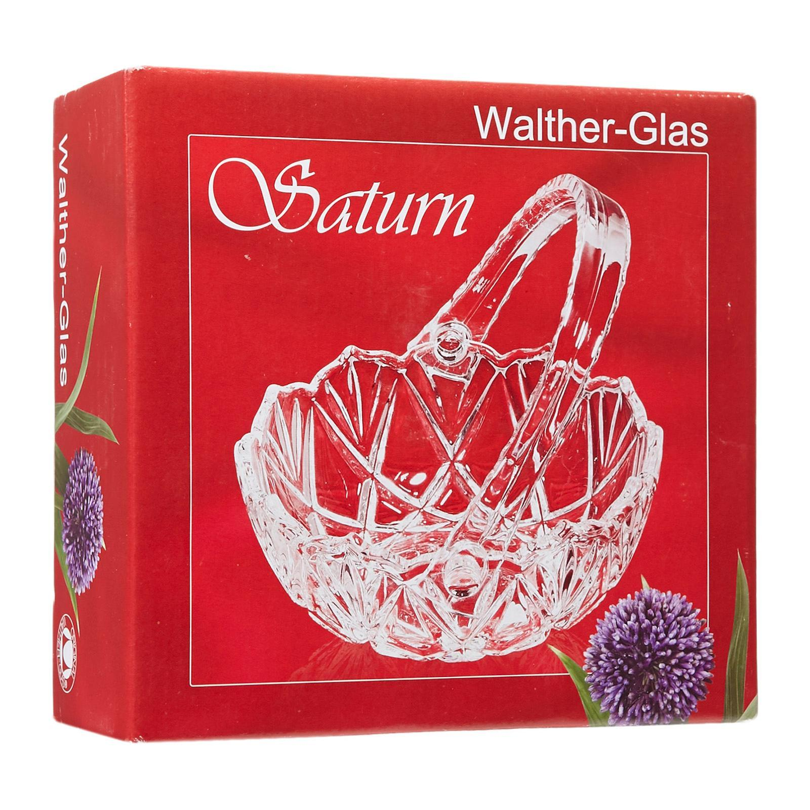 Walther-Glas Saturn Clear Basket