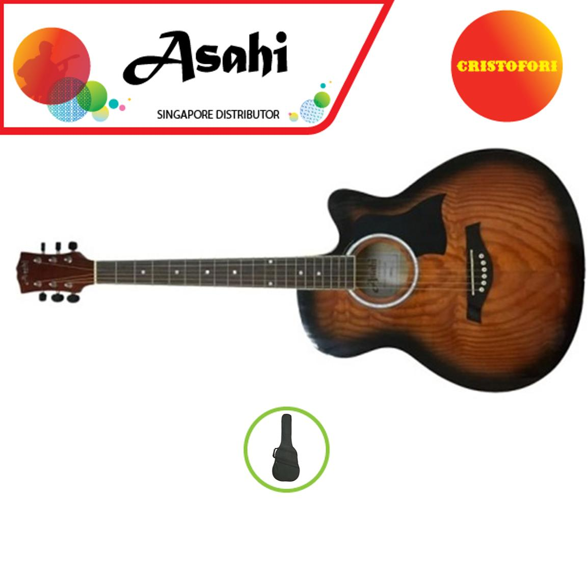 "40"" ASAHI ACOUSTIC GUITAR – Designed in Japan 2."
