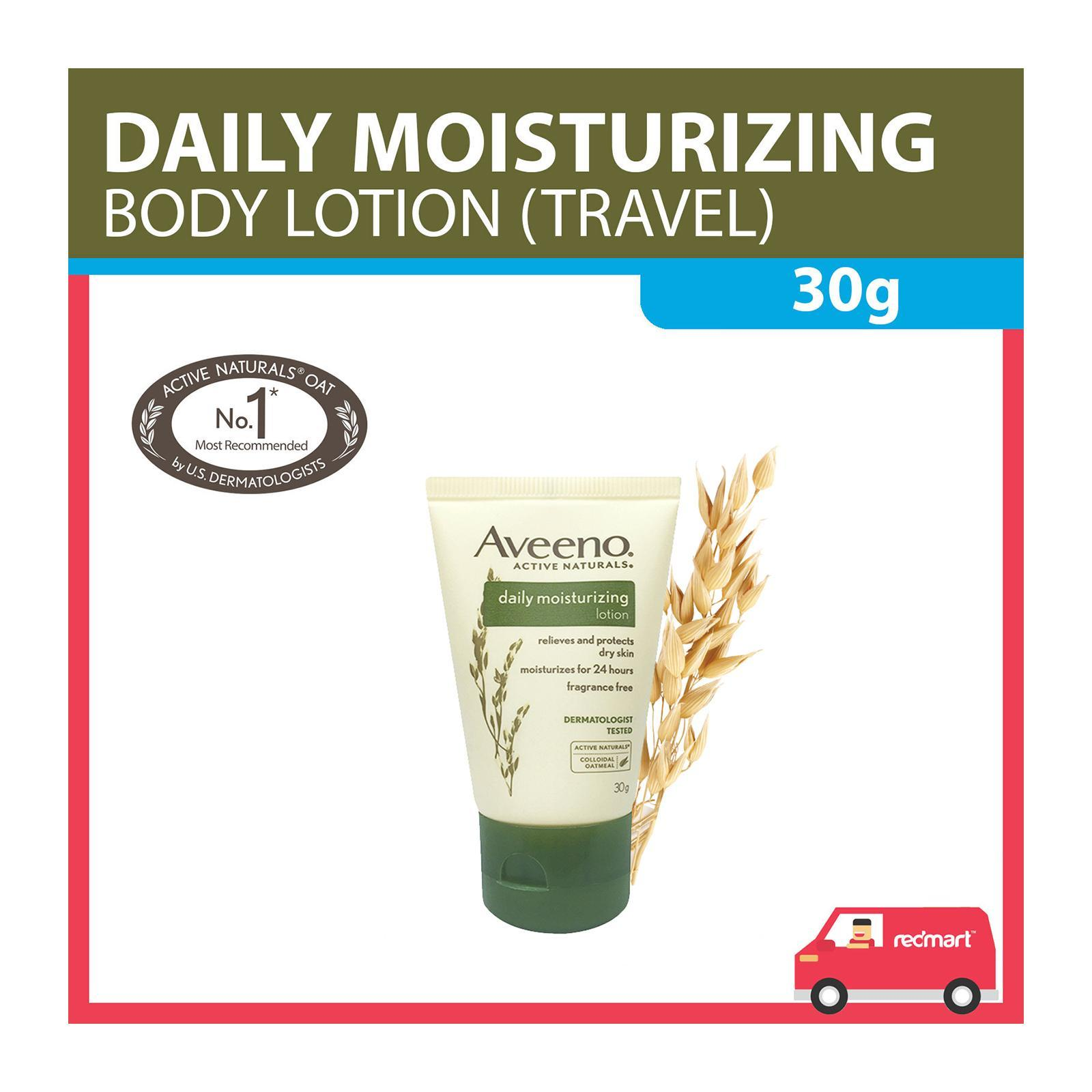 Aveeno Daily Moisturizing Lotion (Travel Sample Trial)