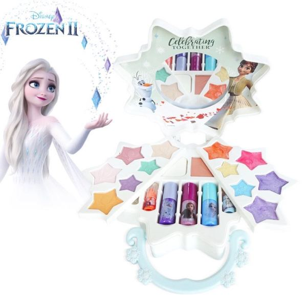 Buy 🌟 SG Ready Stock 🌟 Great Gift Idea Frozen Non Toxic All-In-One Makeup Palette Makeup Set For Girls Kids Role Play Cosmetic Set Washable Safe Peel-Off Nail Polish Eyeshadow Blush Lipstick Singapore