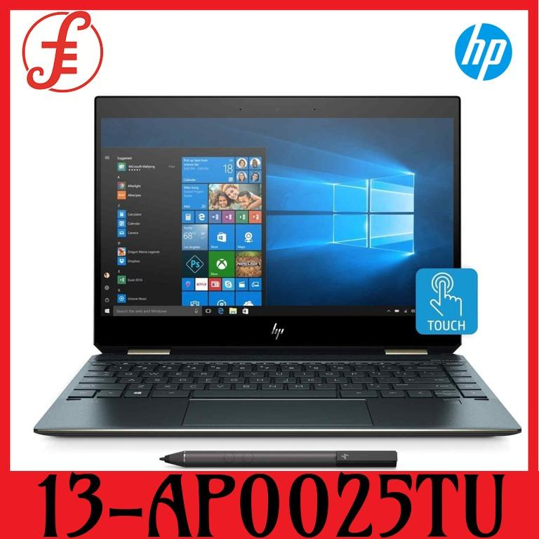 HP 13-AP0025TU X360 13-AP0025TU (5KG02PA) 13.3IN INTEL CORE I7-8565U 16GB 512GB WIN 10 (13-AP0025TU)
