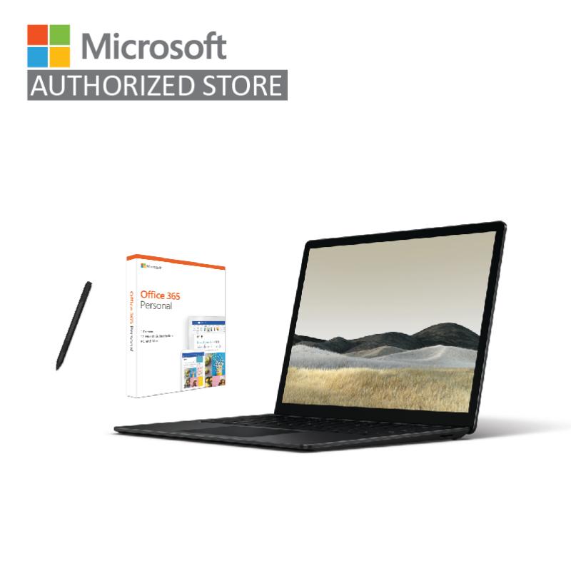 [Laptop] Microsoft New Surface Laptop 3 i5/8GB RAM/256GB (Black) + Surface Pen (Black) + Office 365 Personal