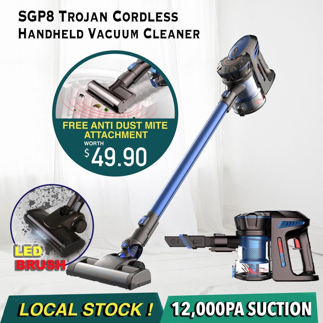 Minihelpers SGP8 Trojan Cordless Vacuum Cleaner Portable Car xiaomi Dibea Vacuum Cleaner (12 Months Warranty)
