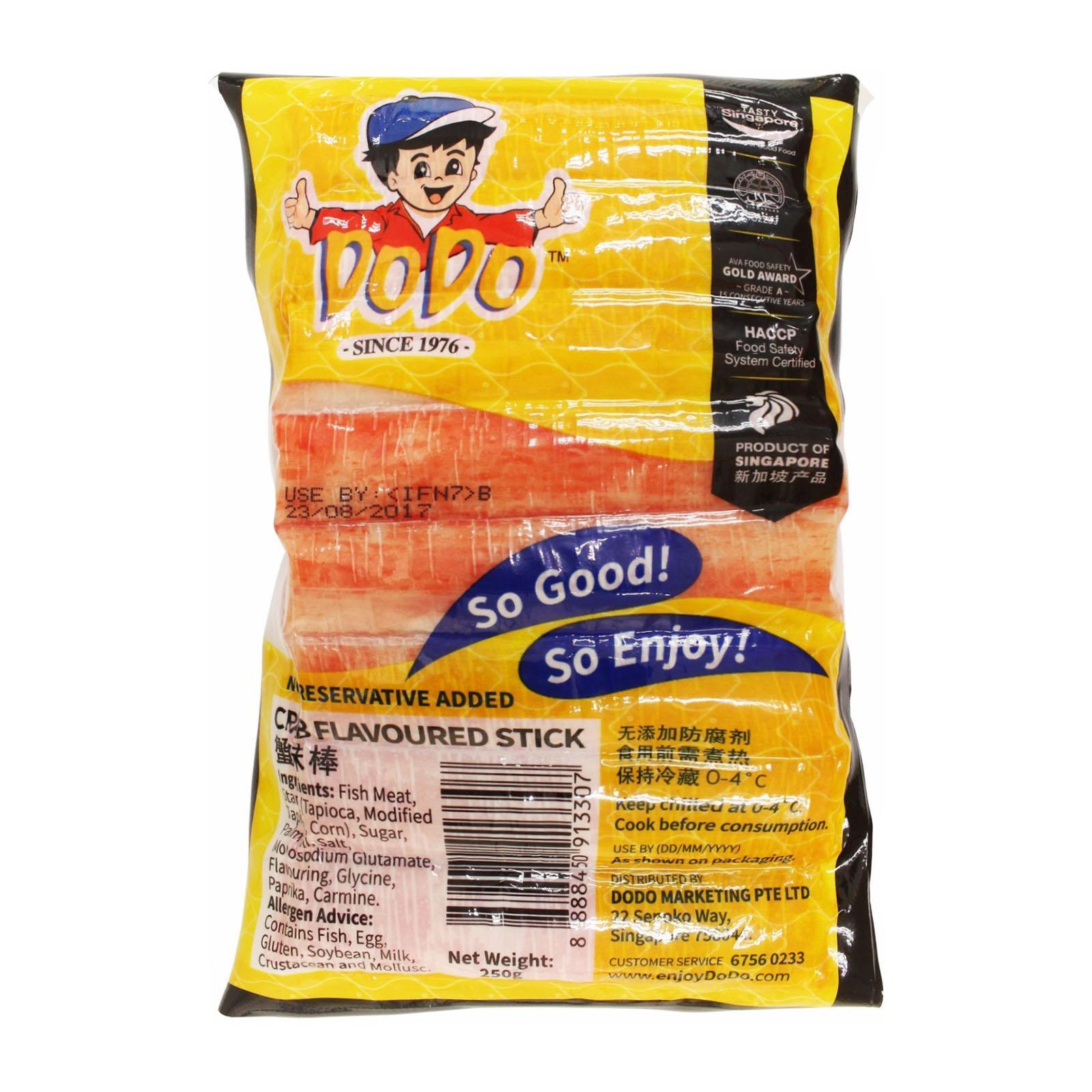 DoDo Crab Flavored Sticks - Chilled