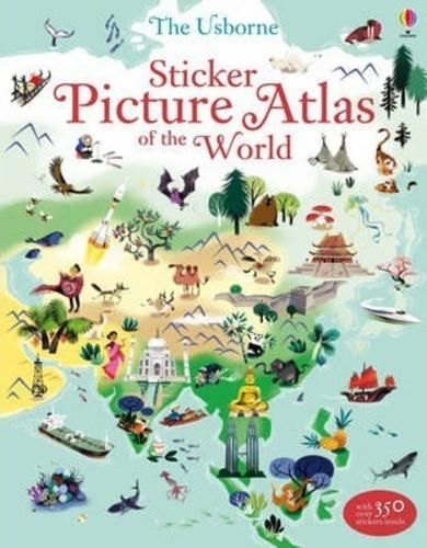 Sticker Picture Atlas of the World