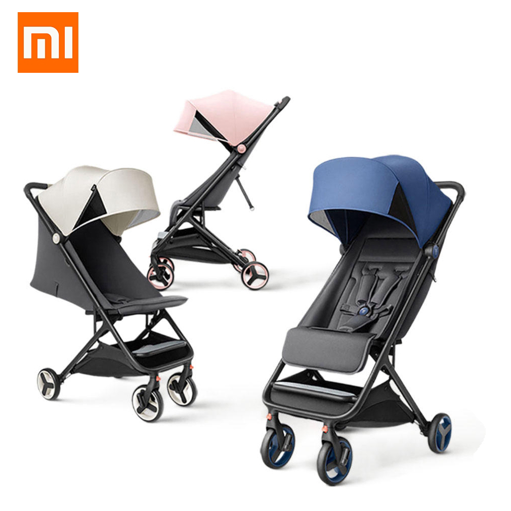 Xiaomi Mitu Foldable Cabin Size Compact Baby Stroller Portable High Landscape Pram Quick Open/Folding Anti-UV Lightweight for Travel MTTC01BT Singapore