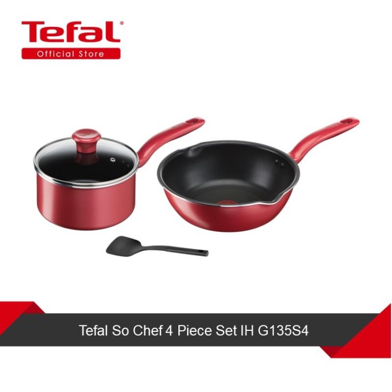 Tefal So Chef 4pcs Set G135S4 Singapore