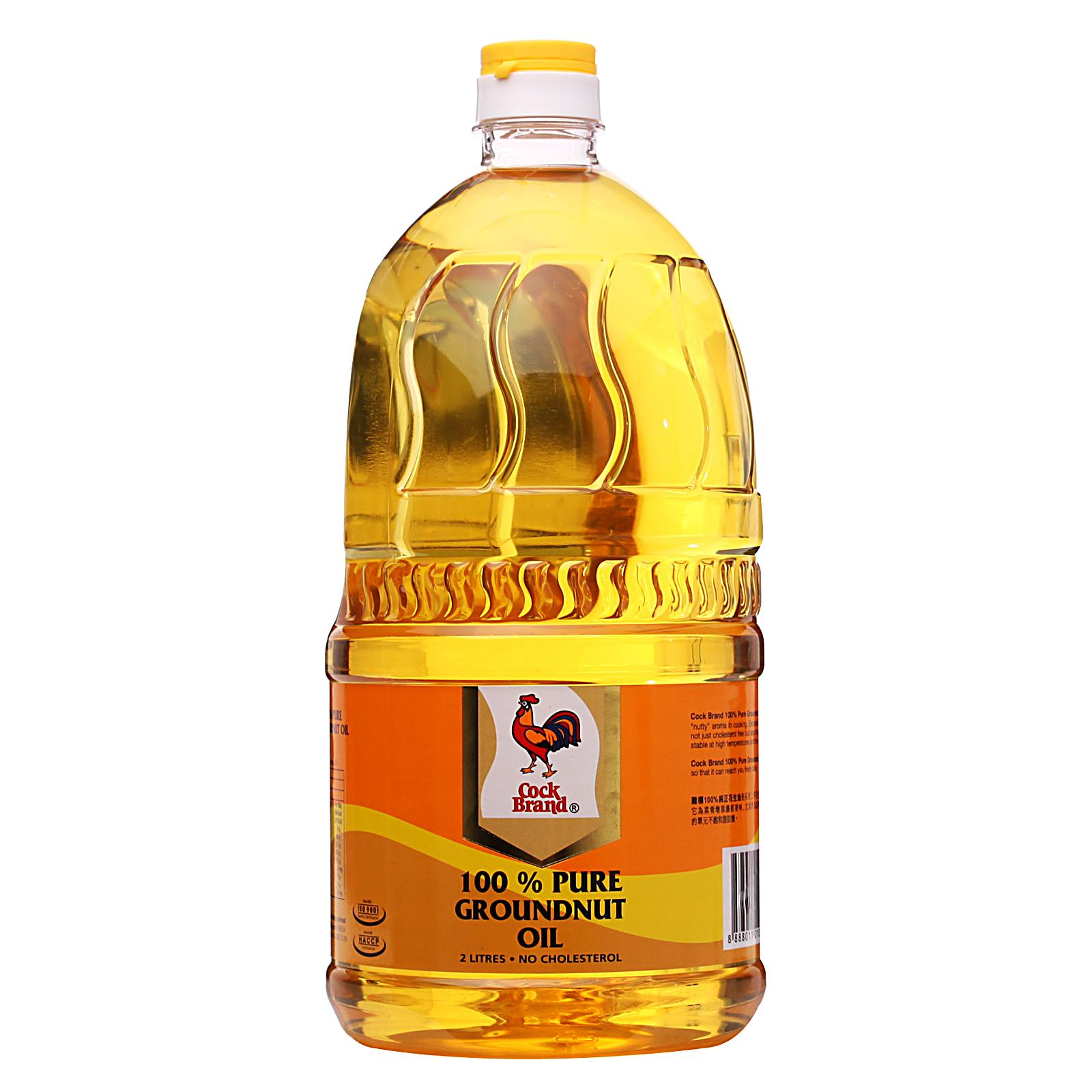 Cock Brand 100 - percent Pure Groundnut Oil