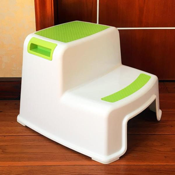 Kids yu deng Pedal Double Layer Footrest Seat Fangdeng Stairs Multi-functional Step Ladder Double Layer Young CHILDRENS Cool Basin