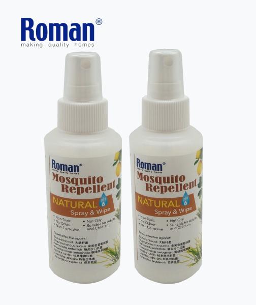 Roman Natural Mosquito Repellent Wipe 100ml