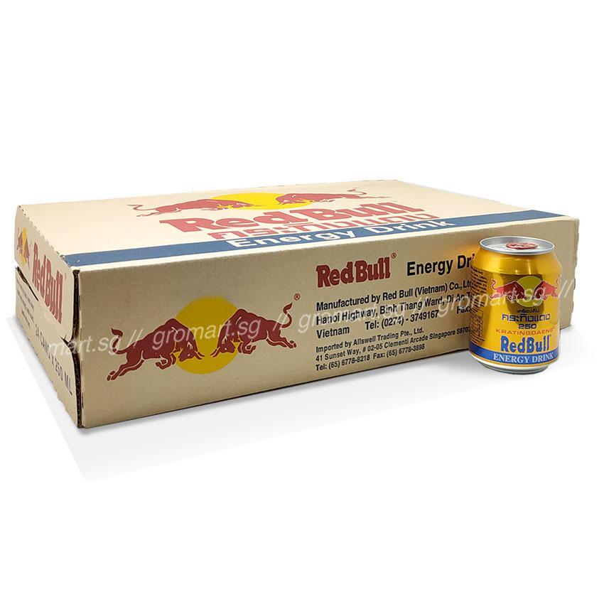 Redbull Energy Drink 24x250ml Cans Carton Deal (24x250ml) By Chaphediam.