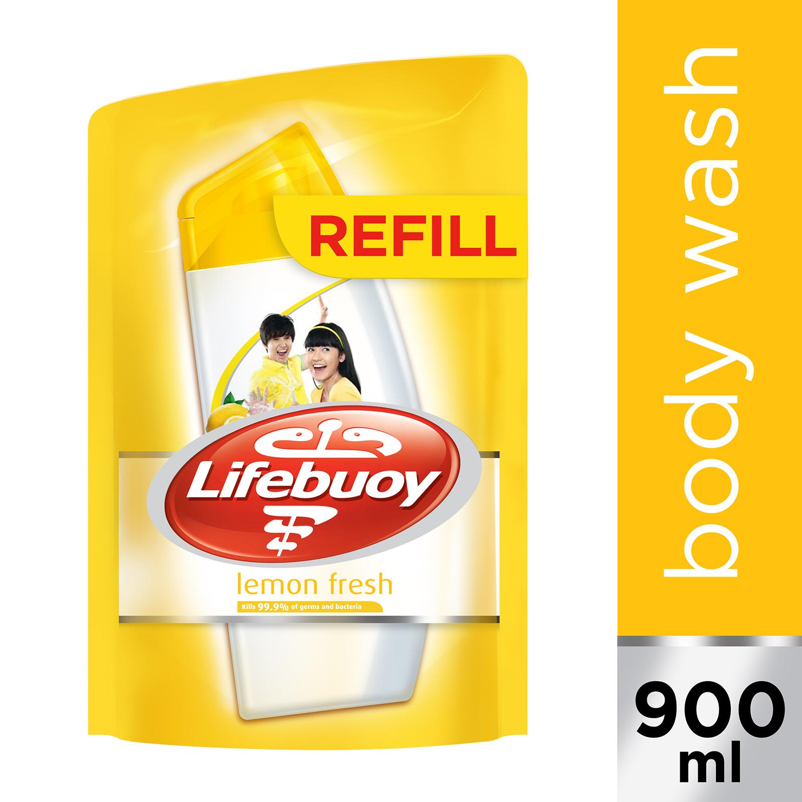 Lifebuoy Lemon Fresh Anti-bacterial Body Wash Refill Pack