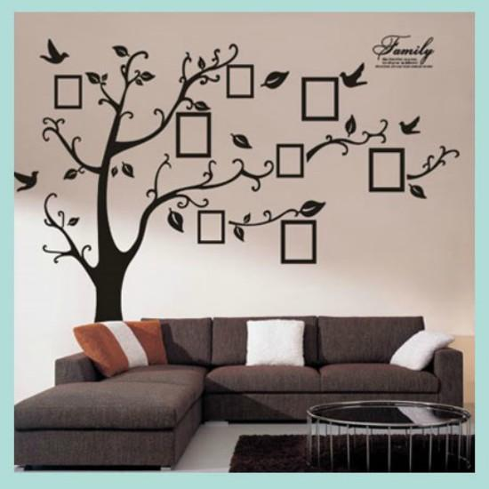 Large Decor Stickers Electrostatic Glass Paste Window Wall Door Stickers Decorations - Type ZY9XAB