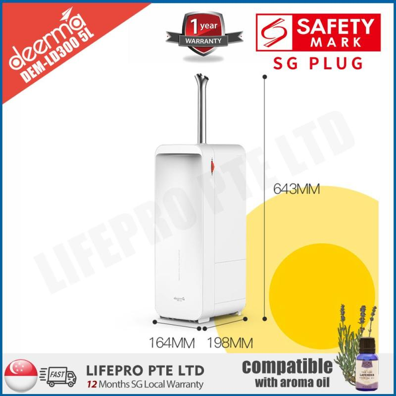 [LifePro Special] Deerma DEM-LD300 5L Stand Humidifier/ Movable/ SG Plug/ Up to 12-month SG Warranty Singapore