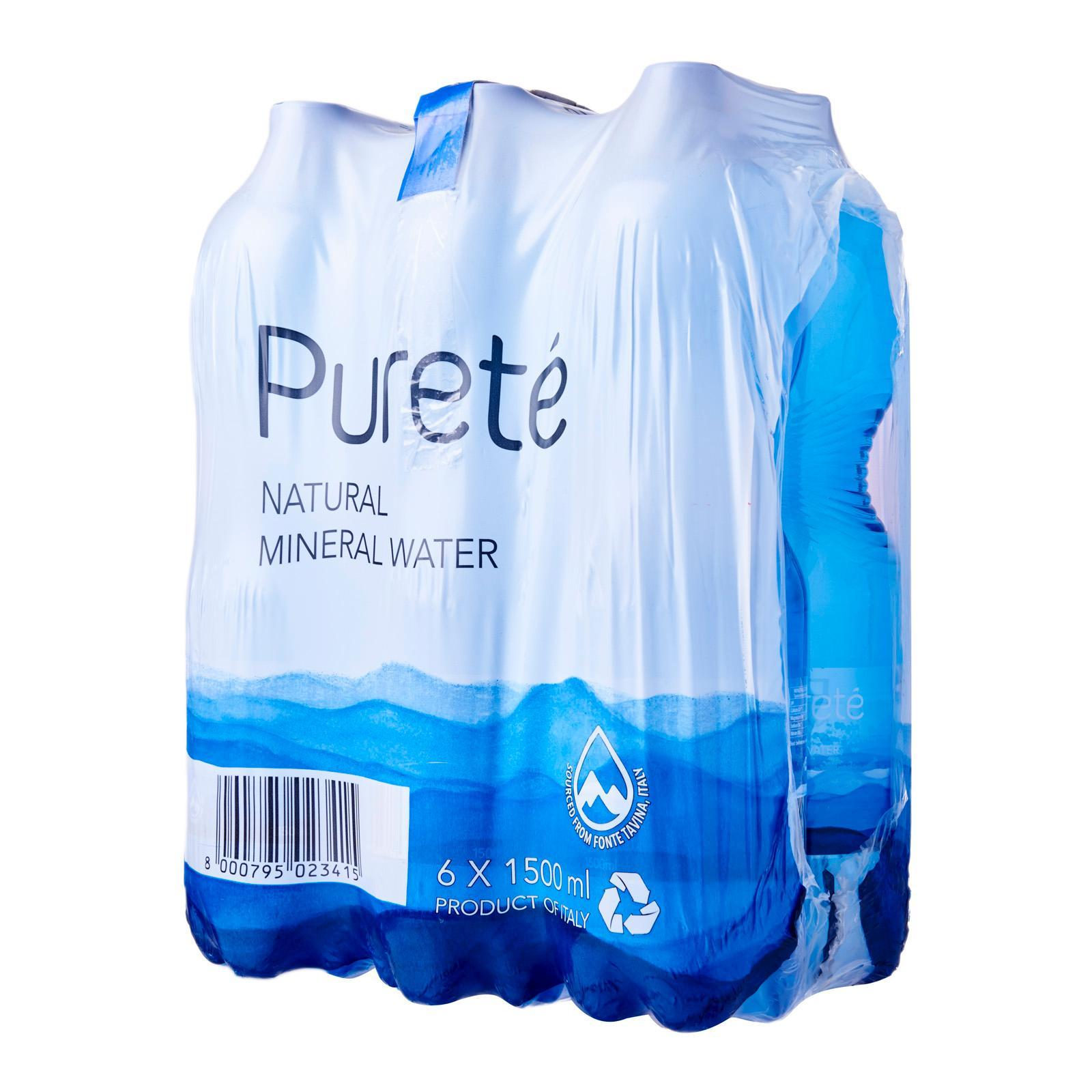 Purete Natural Mineral Water - Case