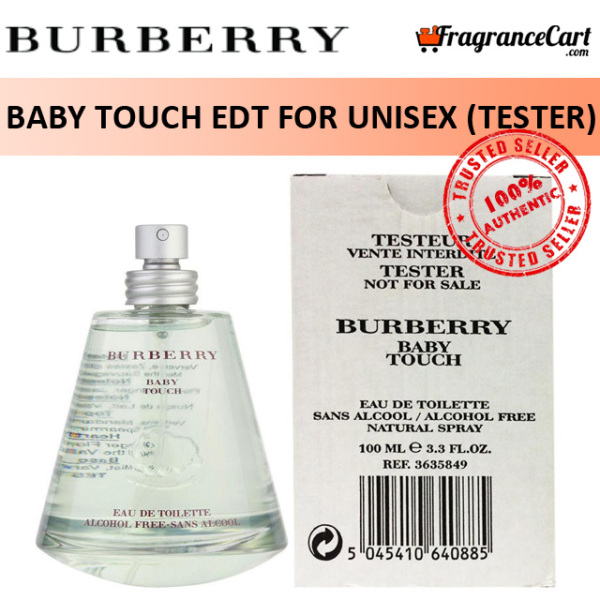 Buy Burberry Baby Touch EDT for Unisex (100ml Tester) Men Women Eau de Toilette Green [Brand New 100% Authentic Perfume/Fragrance] Singapore