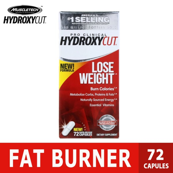 Buy Hydroxycut, Pro Clinical Hydroxycut, Fat Burner Lose Weight, 72 Capsules Singapore