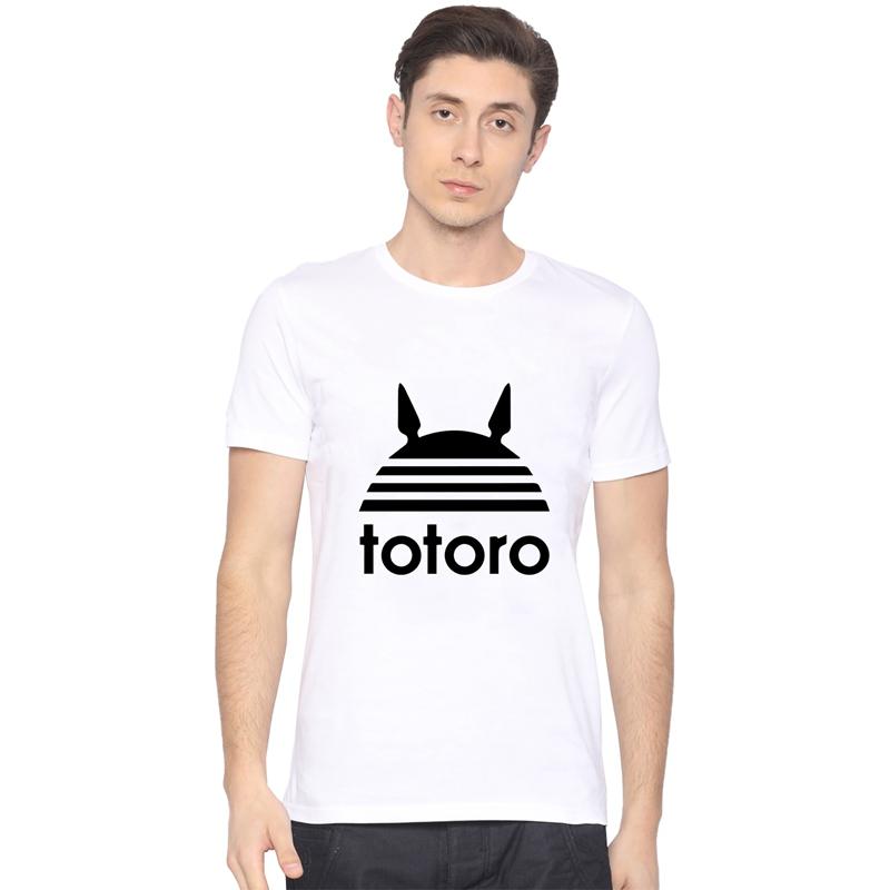Menapos Fashion Totoro Printed T Shirt Cool Tops Apos High Quality Casual Tee.