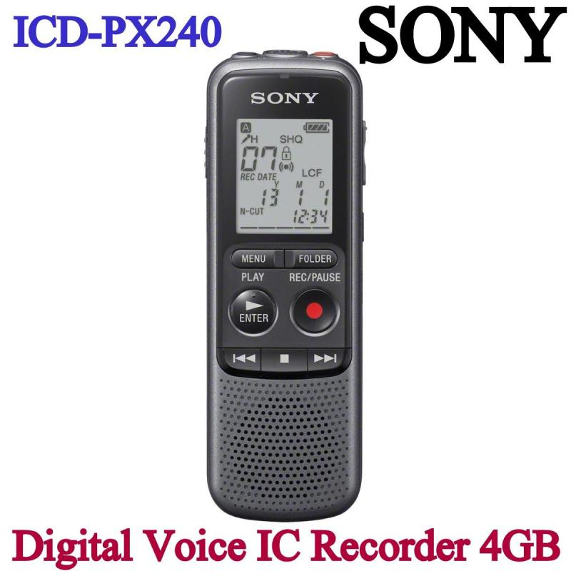 SONY ICD-PX240 Digital Voice IC Recorder 4GB PX SERIES Singapore