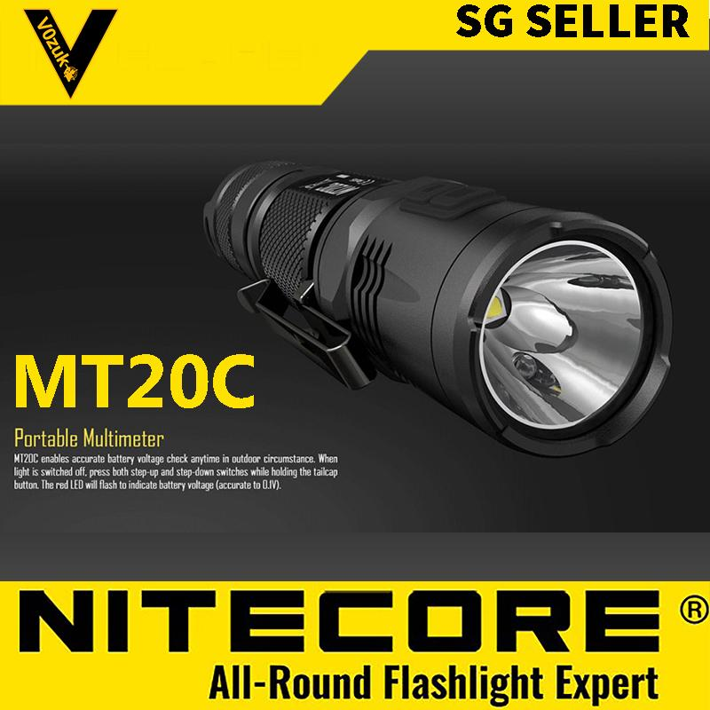 NITECORE WATERPROOF LED FLASHLIGHTS MILITARY GRADE 460 LUMENS