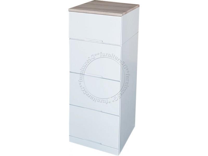 (FurnitureSG) 4 Drawers Cabinet