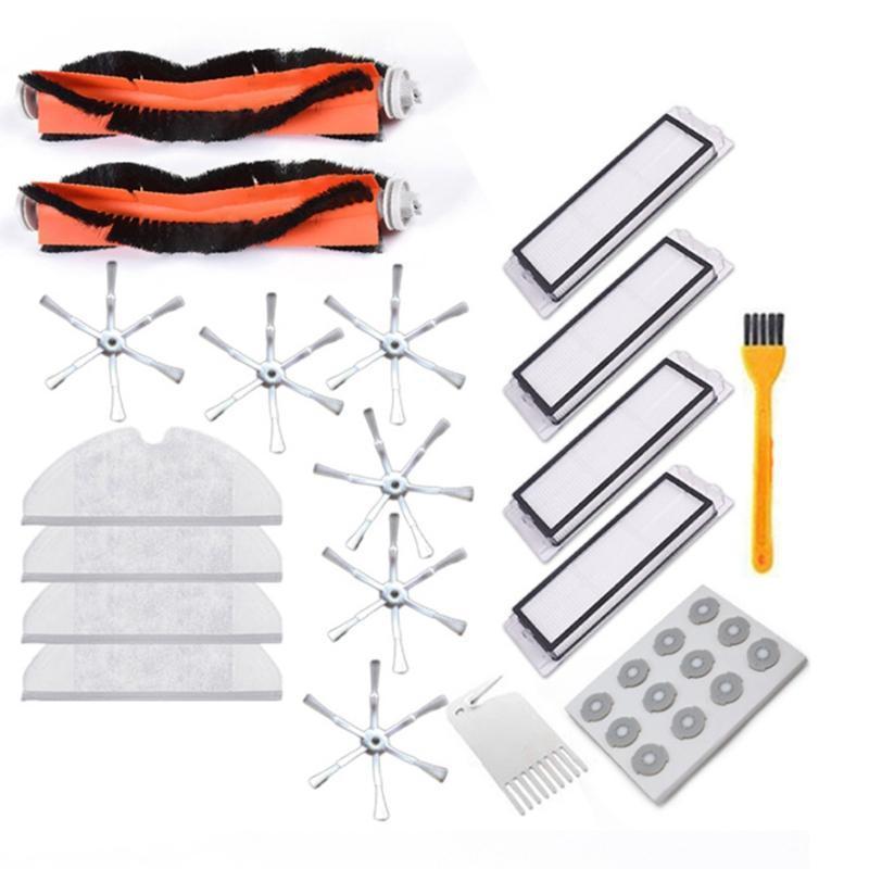 30PCS for Xiaomi Vacuum Cleaner Parts Replacement For Xiaomi Mi Robot Roborock S50 S51 Vacuum Cleaner Accessory Kit