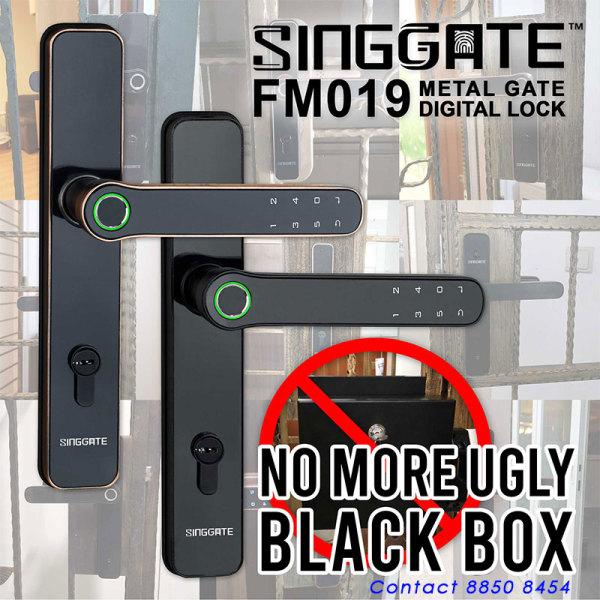 digital lock metal gate lock Local Brand FM019
