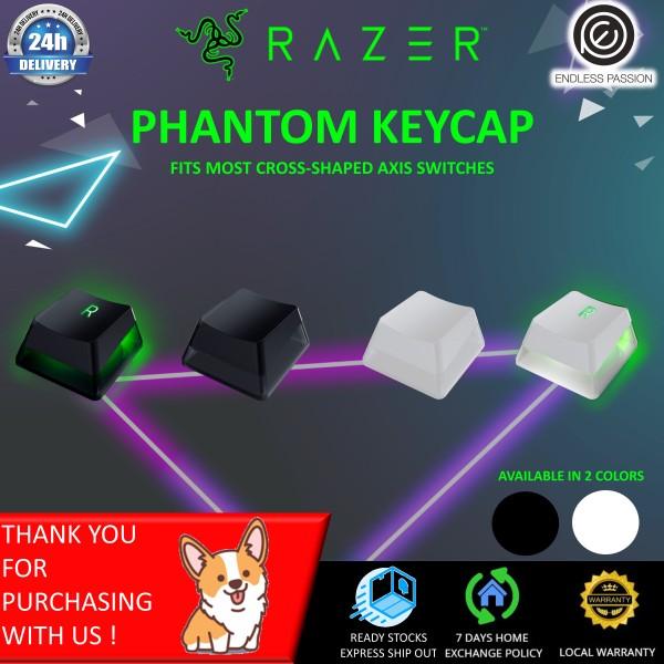 Razer Phantom Keycap Upgrade Set: Unique Stealth Design - Translucent Sides - Bottom-Lasered Legends - Keycap Removal Tools & Stablizers - Universal Compatiability Singapore