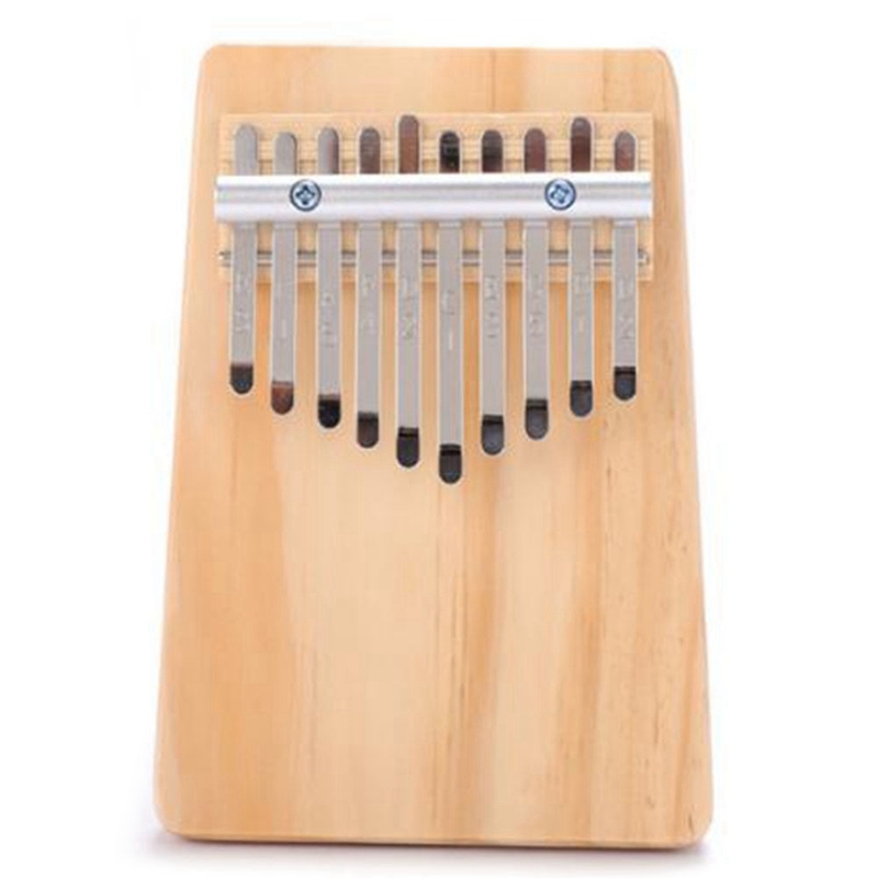 10-Key Kalimba Thumb Piano Kids Adults Music Finger Percussion Keyboard Sound Is Crisp and Melodious