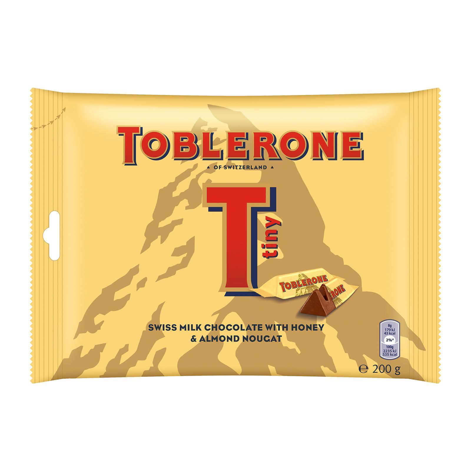 TOBLERONE Dark Mini Chocolate 200g