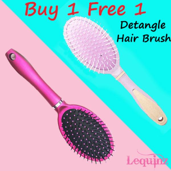 Buy BUY 1 FREE 1 Hair Care Health Grooming Massage Comb Detangle Brush Singapore