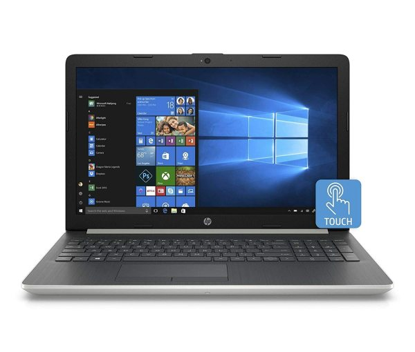 New model  2020 HP 15-da0053wm Notebook 15.6 inch HD TouchScreen display  i7-8550U or i5-8250U 8GB RAM 480/500 GB SSD Win 10 Home Natural Silver  In-build Webcam HP  PACKAGING 1 year warranty