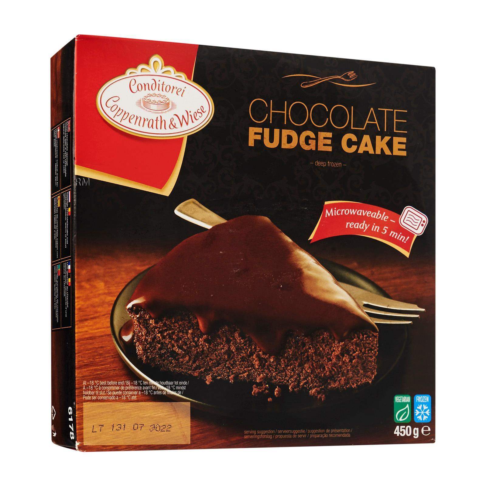 Conditorei Coppenrath & Wiese Chocolate Fudge Cake - Frozen