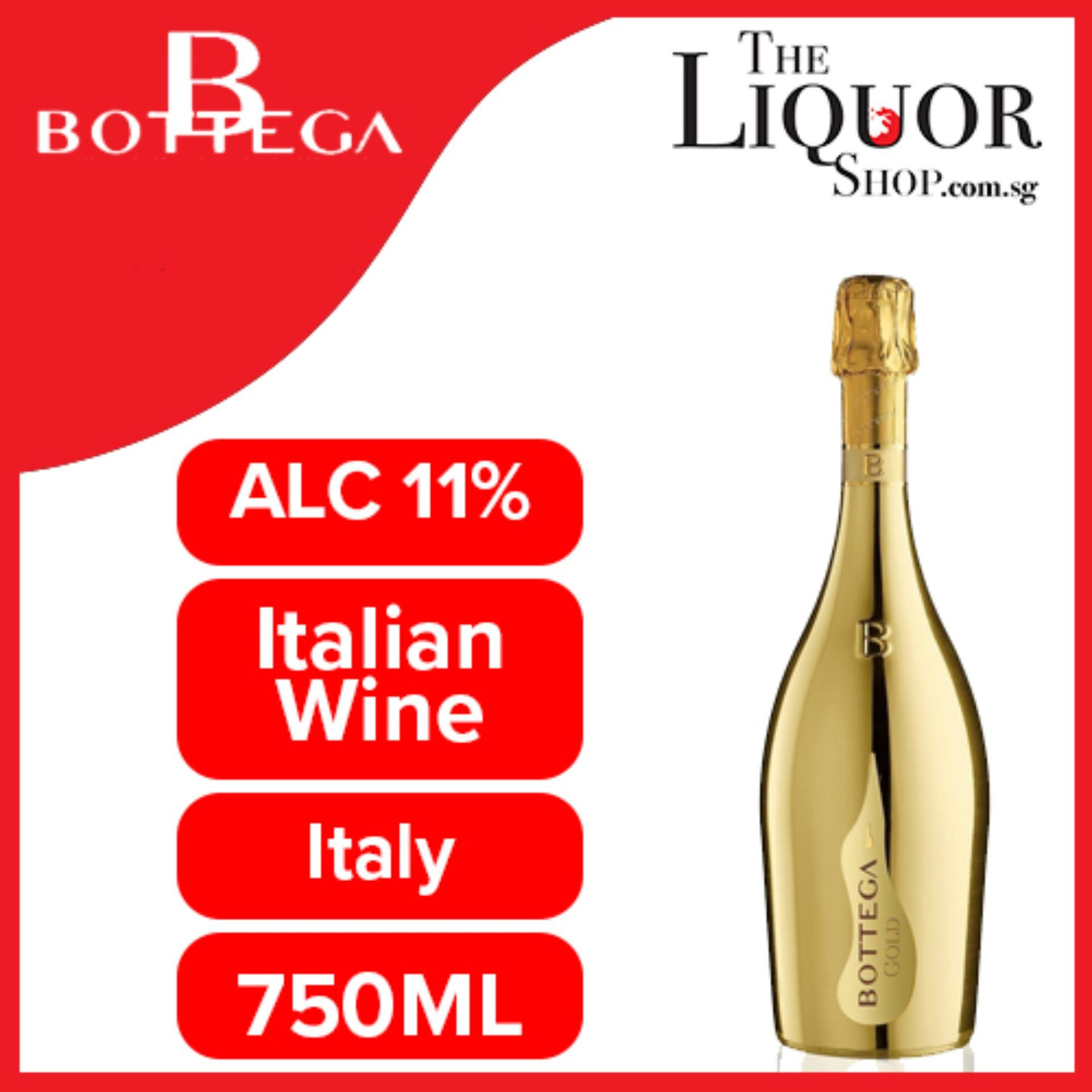 Bottega Gold Prosecco 750ml By The Liquor Shop.