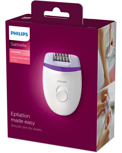 Buy Philips BRE225 Satinelle Essential Corded Compact Epilator Singapore