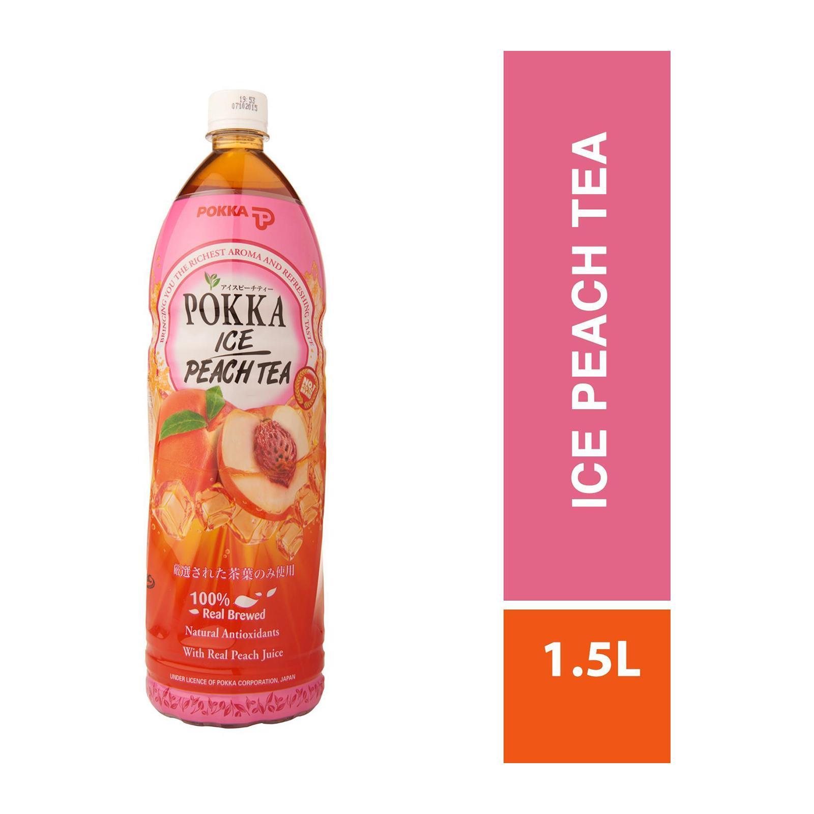 POKKA Ice Peach Tea 1.5L