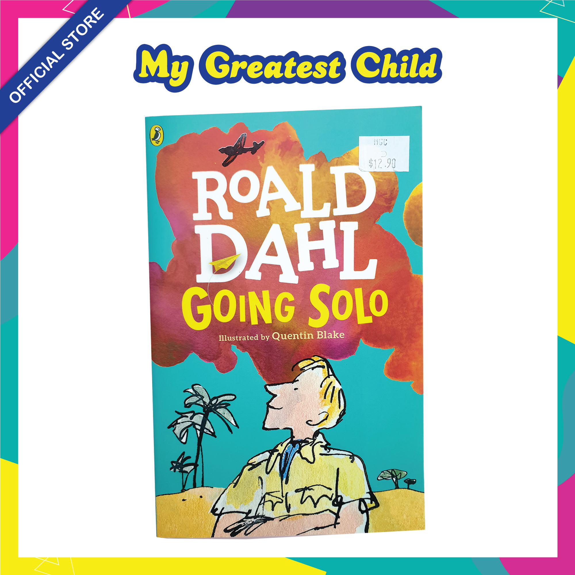 Going Solo - Roald Dahl English Paperback Childrens Book (For Ages 7+)