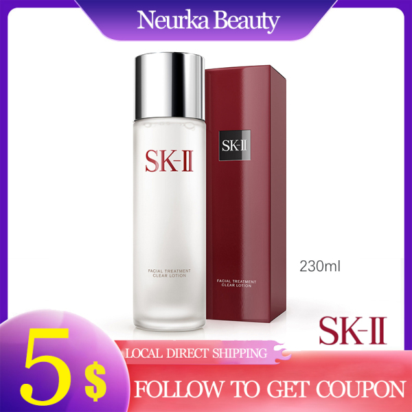 Buy SKII Facial Treatment Clear Lotion 230ml [Toner / Lotion | Pitera | Anti-Aging | Brightening | Made in Japan] [SK2 SK-II] Singapore