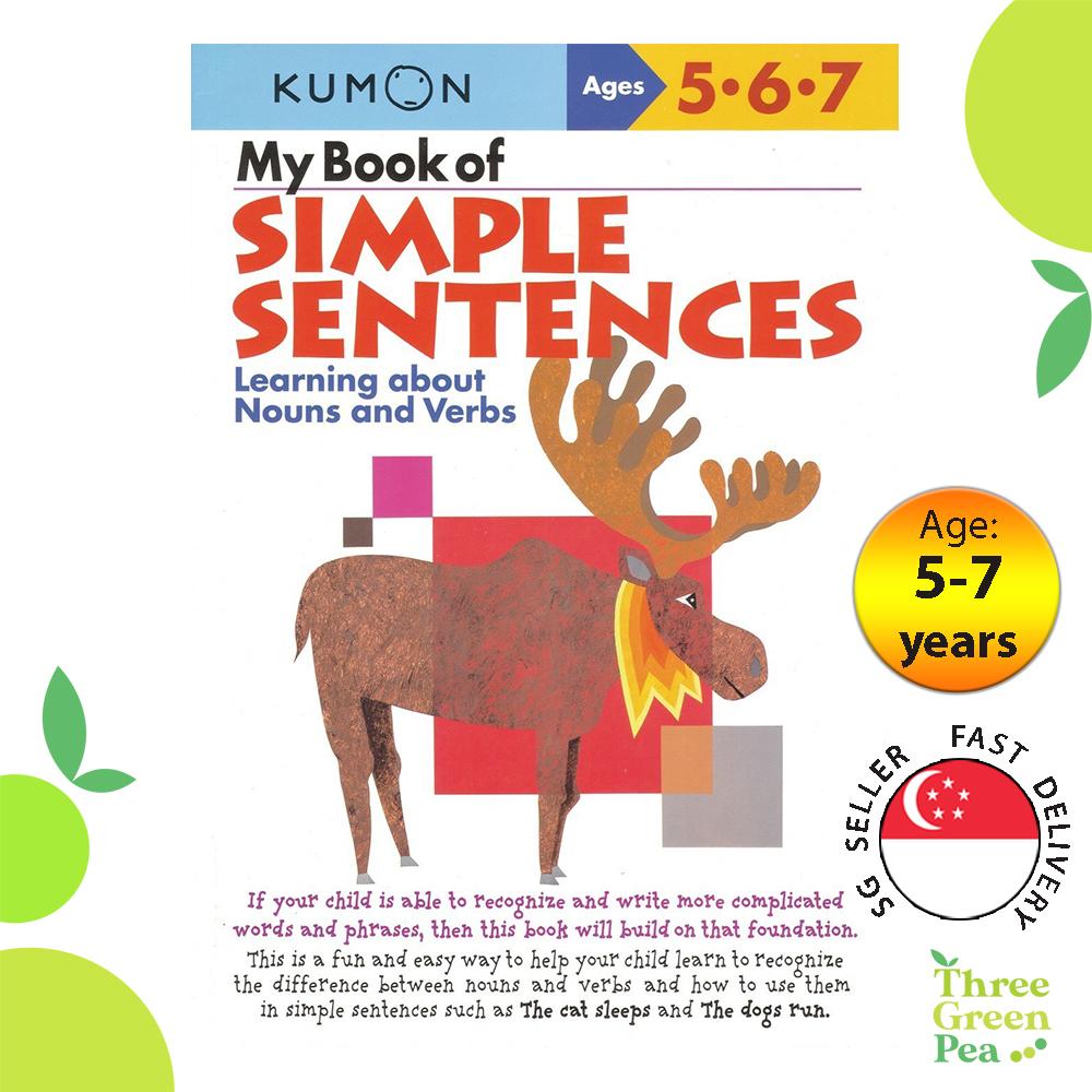 Kumon Verbal Skills Workbooks - My Book of Simple Sentences