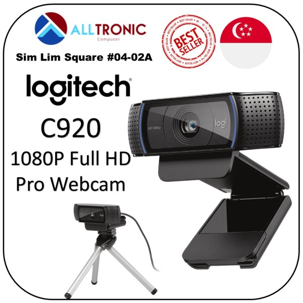 Logitech C920 HD Pro Webcam with stereo Audio/ p/n:  960-000770