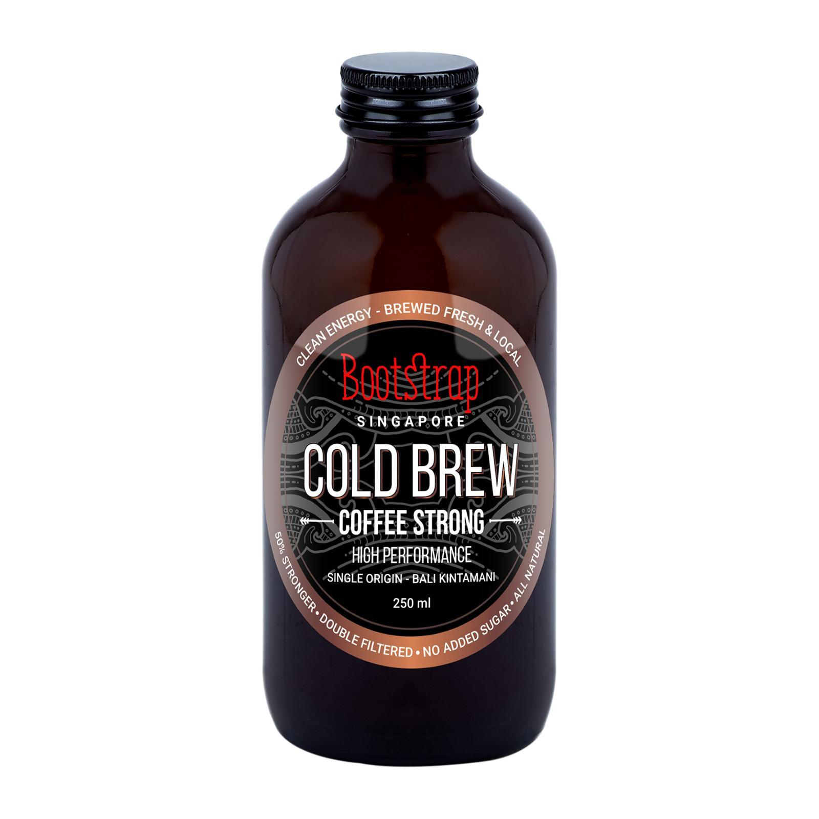 Bootstrap Cold Brew Coffee Strong By Redmart.