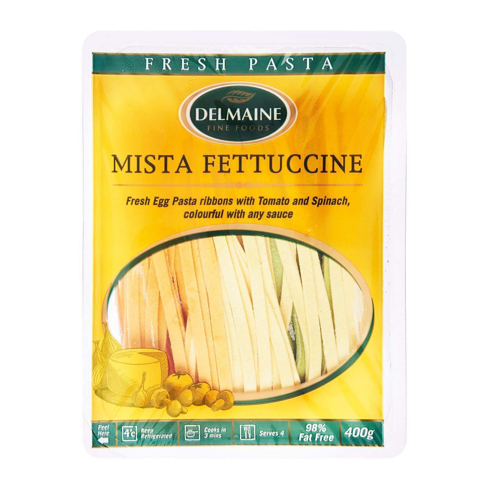 Delmaine Mista Fettuccine Flat Pasta By Redmart.
