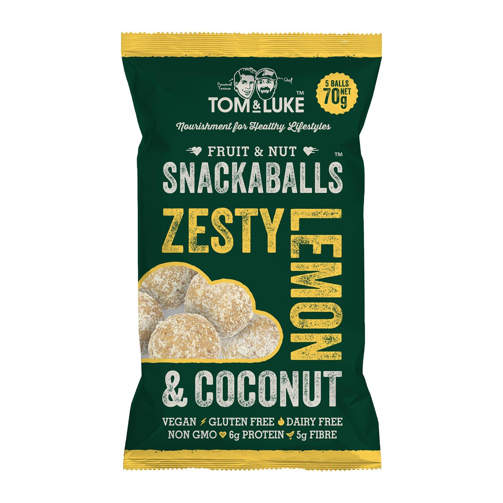 Tom & Luke Snackaball - Zesty Lemon