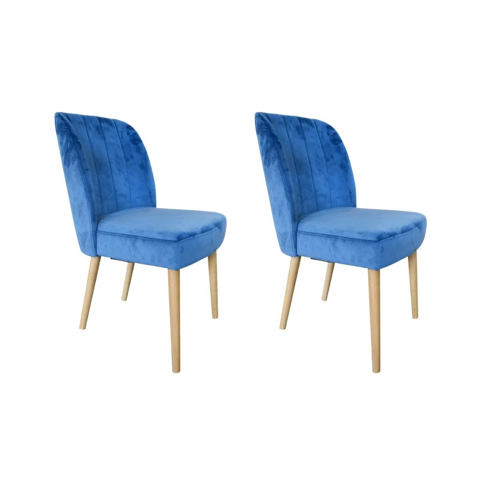 Edith Dining Chair, Set of 2 (Teal)