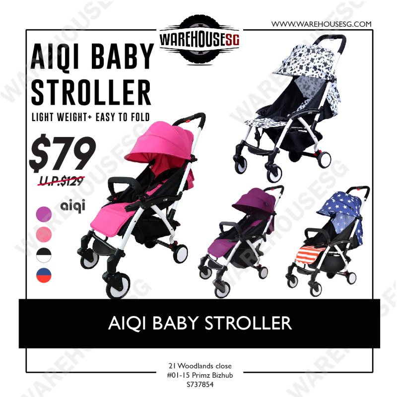 AIQI BABY STROLLER Singapore