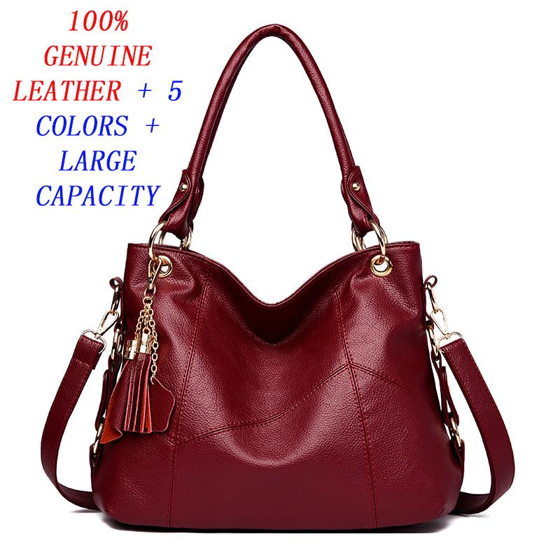 Free Shipping-Womens Shoulder Bag Female Genuine leather Handbag Women Bags Designer High Quality Hollow Out Large Capacity Tote Bag