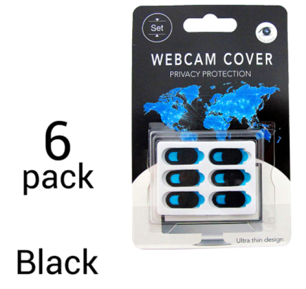 6pcs WebCam Cover *Privacy Protection Slider For Computer Laptop iPad Smartphone