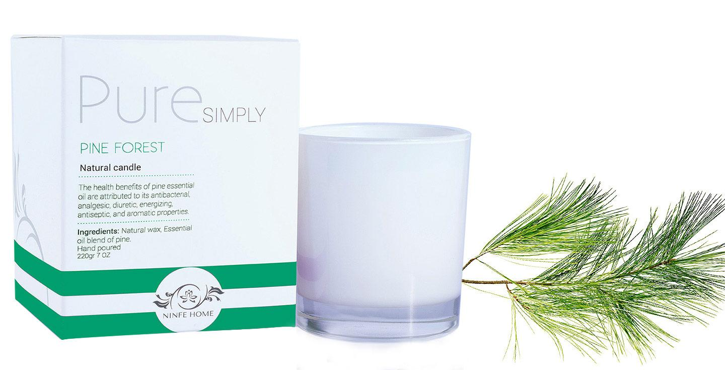 Pure Simply - Pine Forest - Premium Soy Wax Candle