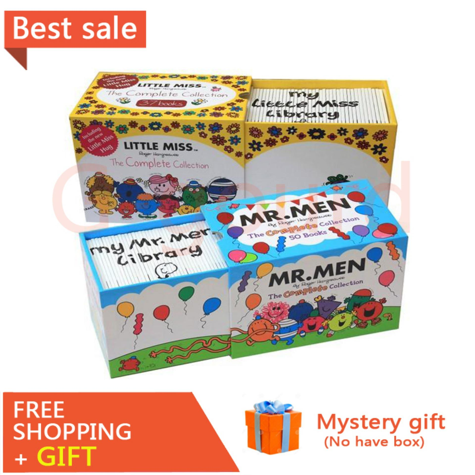 37books Little Miss Mr Men, Miss Miao, English Picture Book Parent-child Enlightenment Early Learning Comic Book 37