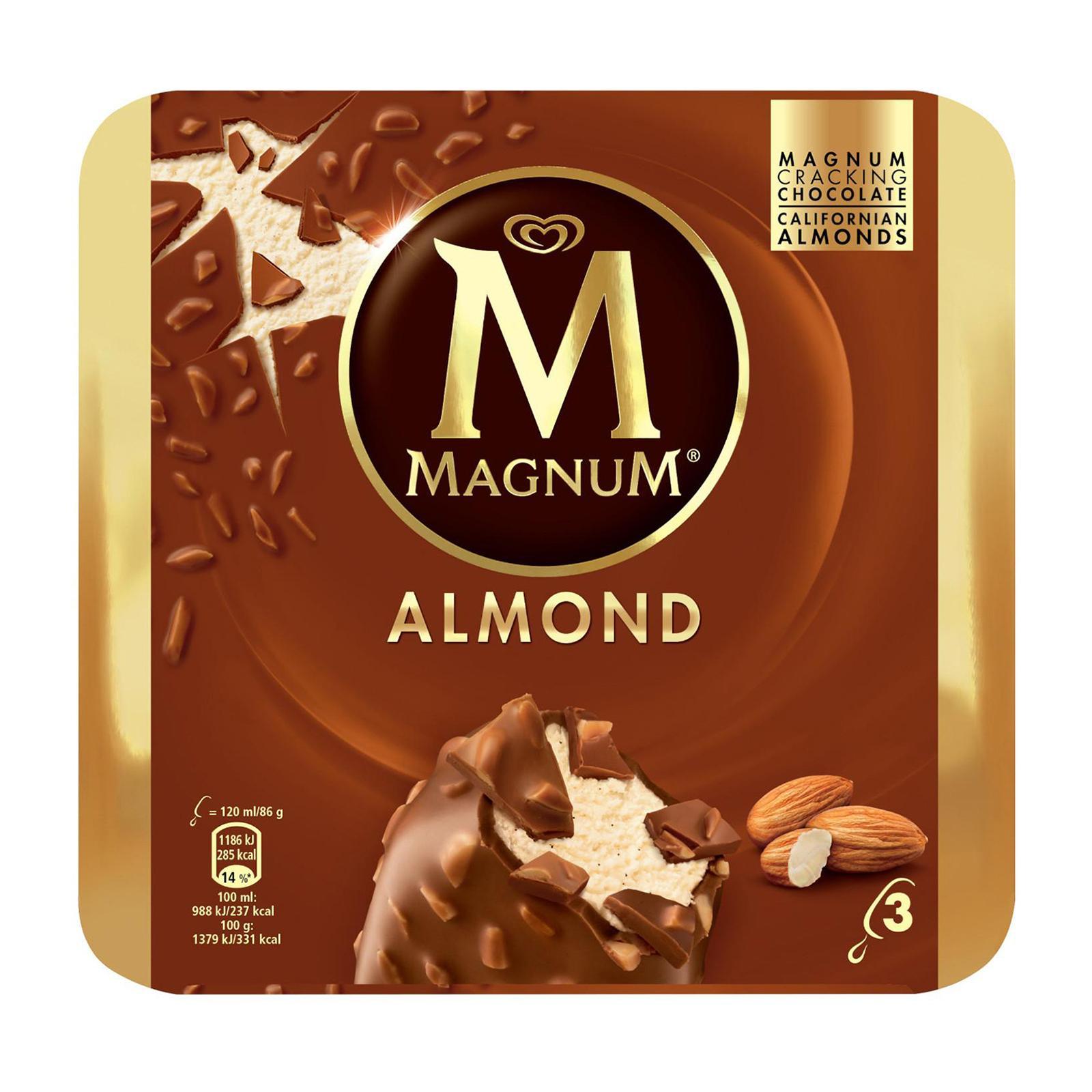 Magnum Almond Multipack Ice Cream
